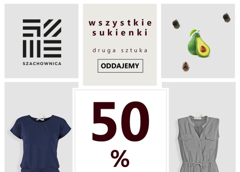 041321f9feff4d SZACHOWNICA- super promocja na sukienki! - Centrum Handlowe Galena w  Jaworznie